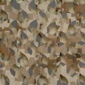 Маскировочная сеть Пейзаж Камыш 3D ширина 2,2 м (охра, светло-серый).