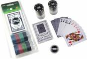 Сувенирный набор Magic Home, для игры в покер, 79875, 10,2 х 24,5 см