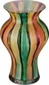 """Ваза Lefard """"Радуга"""", 316-886, синий, зеленый, желтый, высота 30 см"""