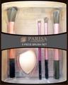 Parisa Набор Кистей P-104 для макияжа (кисть для румян, бровей, теней и растушевки + спонж)
