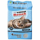 Наполнитель для туалета бентонитовый комкующийся SUPER BENEK Compact 25 л (5905397010746)