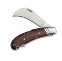 Нож садовый серповидный складной 18см нерж. сталь