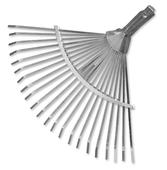 Грабли веерные металлические без черенка с регулировкой