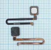 Шлейф сканера отпечатка пальца для Xiaomi Mi 5S Plus, белый
