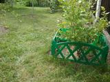 Заборчик декоративный №4 Modern 3м высота 35см (5 эл.) зеленый