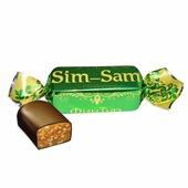 "Конфеты ФинТур ""Sim-Sam"" c кунжутом (молочная мягкая карамель с кунжутом) 200гр, 200"