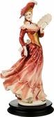 Статуэтка Lefard Анжелика, 431-041, красный, высота 33 см