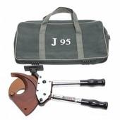 Forsage Кабелерез ручной с телескопическими ручками(медь/аллюминий/армированный кабель3х185мм2)в сумке F-D95J