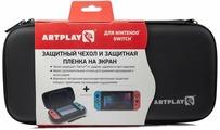 Artplays Чехол и защитная пленка для Nintendo Switch