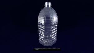Бутылка ПЭТ 5л прозрачная, горло 48мм.1903/155
