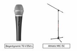 Beyerdynamic TG V35d s + Athletic MIC-5C