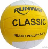 Волейбольный мяч Runway CLASSIC Премиум ПУ, 18 панели, размер 5 [1189/AB]