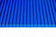 Поликарбонат сотовый Polynex Синий 6 мм