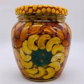 Мёд с орехами Ассорти 550г