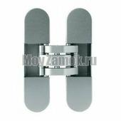 Дверная петля Otlav INVISACTA IN300120V702 скрытого монтажа. Сатинированное серебро.