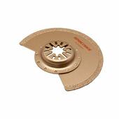 Насадка для МФИ Практика, DiA, режущая, полукруг, по камню и плитке, 88 мм {240-348}