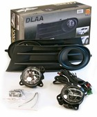 Фара противотуманная Dlaa VW-325B W, VolksWagen Golf 5 2008-, HB 9006, 12 V, 55 W