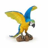 PAPO Коллекционная фигурка PAPO. Попугай Ара голубой