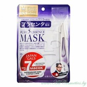 JAPAN GALS Pure 5 Essence Маска для лица, курс 7шт, с плацентой | 7шт | Pure 5 Essence Mask, Placenta, 7P
