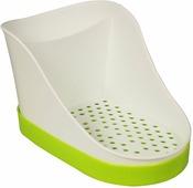 "Подставка для моющих средств ""Idea"", цвет: салатовый, 10,5 х 12,5 х 18,5 см"