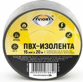 """Изолента """"Aviora"""", цвет: серый, 15 мм х 20 м"""