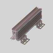 Тормозной (балластный) резистор РБ4-080-2К2