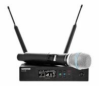SHURE QLXD24E/B58 G51 вокальная радиосистема с ручным передатчиком BETA58, диапазон 470 - 534 MHz