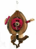 """Игрушка для птиц SKY """"Coco-de-Nut"""", коричневый, 30см (Великобритания)"""