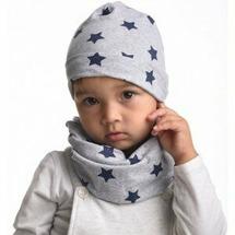 Пеленкино Шапочка и шарфик Синие звезды