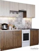 Кухонный гарнитур SV-Мебель Магнолия 1,7 гикори темная/ гикори светлая [00-00040698]