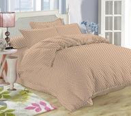 Комплект постельного белья Amore Mio Quiet, евро, наволочки 70x70