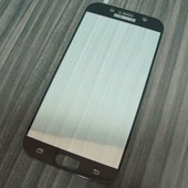 для Samsung A5 2017 Защитное стекло Ainy Full Screen Cover 2,5D 0,33 мм черное