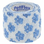 """Бандаж для животных Andover """"Pet Flex"""", цвет: белый, голубой, 5 см х 450 см"""