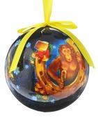 """Новогоднее подвесное украшение Sima-land """"Шар. Удачи и богатства"""", диаметр 10 см"""