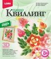 Lori Набор для квиллинга Панно Пышные цветы