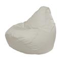 Кресло-мешок FLAGMAN Груша Макси белый (Г2.1-00)