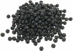 """Бусины """"Астра"""", цвет: черный, диаметр 8 мм, 50 гр. 7704354"""
