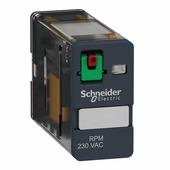 Перекидные реле (реле с перекидными контактами) Schneider Electric Реле 1co 230в перем тока Schneider Electric, RPM11P7