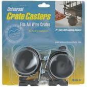 """Колеса для клеток Midwest """"Universal Crate Caster"""", универсальные, 2 шт"""