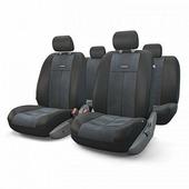 """Авточехлы Autoprofi """"TT"""", цвет: черный, 9 предметов. TT-902V BK/BK"""