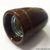 "Ретро патрон ""ASR Ceramic Brown-41"", материал: керамика, цвет: коричневый"