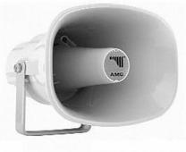 AMC HQ 15 Рупорный громкоговоритель пластиковый 15Вт/7,5Вт-100В, белый, IP66, 12шт. в коробке: 56х4
