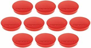 Magnetoplan Standart Набор магнитов красные 10 шт