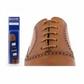 Шнурки Saphir (круглые, тонкие) (Цвет-03 Светло-коричневый Размер-75 см)