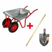 Садовые и строительные тачки ECO WB6820-2HD