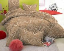 Комплект постельного белья Amore Mio Regal, евро, наволочки 70x70
