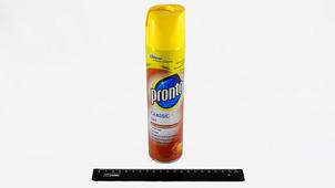 Полироль аэрозоль антипыль для мебели Пронто на 250мл (12шт в упаковке).6575/4501