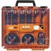 Набор оснастки для многофункционального инструмента OMNI AEG 9 шт в кейсе, арт 24343