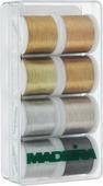 "Набор швейных ниток Madeira ""Metallic. Smooth"", 200 м, 8 шт"