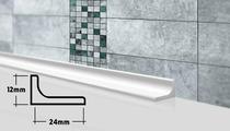 Плинтус бордюр галтель для ванной ГБ 24 90 см